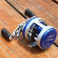 11 1BB 4 7 1 Bait Casting Reel Metal Left Right Hand Cast Drum Wheel Surfcasting
