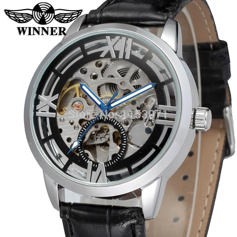 compare prices on best skeleton watches online shopping buy low wrg8034m3s7 winner brand automatic men silver color skeleton watch shipping best pric black leather