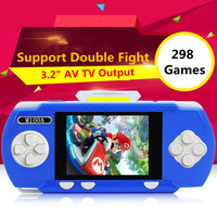 New Portable Handheld Game Players Gaming Consoles Built In 298 Classic Games For Kids Best Gift