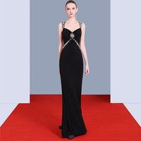 Diamonds New Sweep Train 2018 Women's Elegant Long Gown Party Proms For Gratuating Date Ceremony Gala Evenings Dresses Up 53 Z
