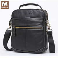 MONOLETH Genuine Leather Men S Bags Zipper Male Handbags Crossbody Bags Shoulder Handbag Men Messenger Bag