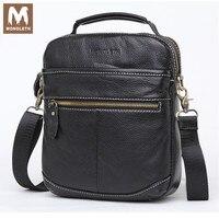 MONOLETH Genuine Leather Men S Bags Zipper Male Handbags Crossbody Bags Shoulder Handbag Men Messenger Bag