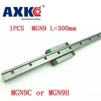 Guía lineal de 9mm Mgn9 L = 300mm vía de riel lineal + Mgn9c o Mgn9h carro lineal largo para Cnc X Y eje Z