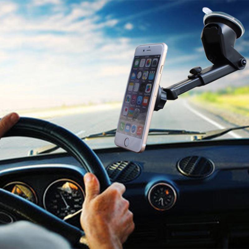 ET Supporto Del Telefono Dell'automobile Cruscotto Parabrezza Titolari di Cellulare 360 Gradi rotazione Supporto Del Telefono per il iphone x 6 6 s 7 8 Plus nuovo