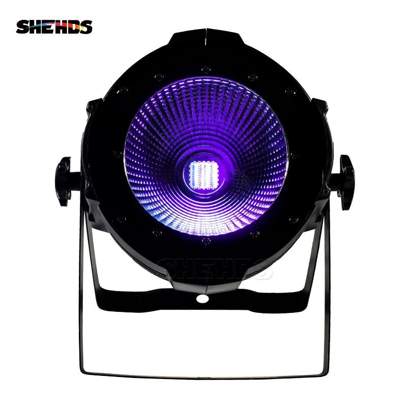 8pcs LED Par COB 200W RGBWA+UV 6IN1 DMX512 Stage Effect Lighting Good For DJ Disco Party Dance Floor Nightclub Wedding And Bar