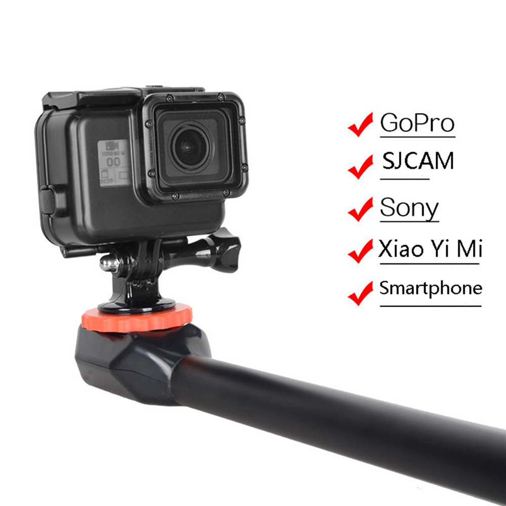 50cm Portable shrink Selfie Stick for GoPros For SJCAM For Sony Action Cameras Smartphones Protable Selfie