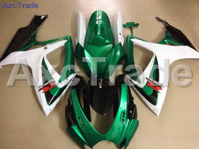 Bodywork Moto Fairings FIT For Suzuki GSXR GSX-R 600 750 GSXR600 GSXR750 2006 2007 K6 06 07 Fairing kit Custom Made High Quality