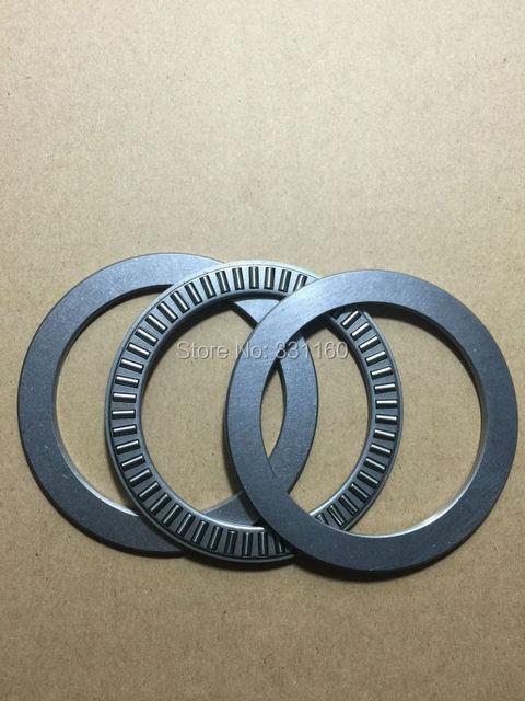 2 pcsAxial cojinete de empuje rodamiento de agujas con dos arandelas NTA6681 + 2TRA6681 tamaño is104.78 * 128.57 * ( 3.175 + 2 * 0.8 ) mm, TC6681