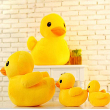 Cute Big Yellow Duck Doll Duckling Plush Toy Filled Hong Kong Rhubarb Toys Hot Kids Childrens Best Gifts