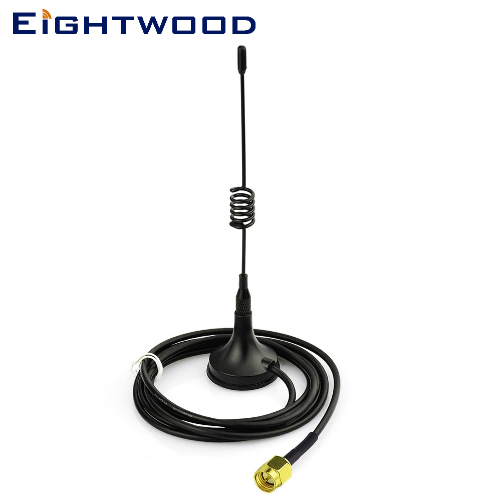 Eightwood 3dbi 433Mhz FM / AM Radio Walkie Talkies Antena SMA - Electronică Auto