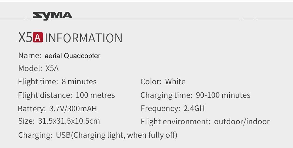 محور 2.4G Drone X5A 2