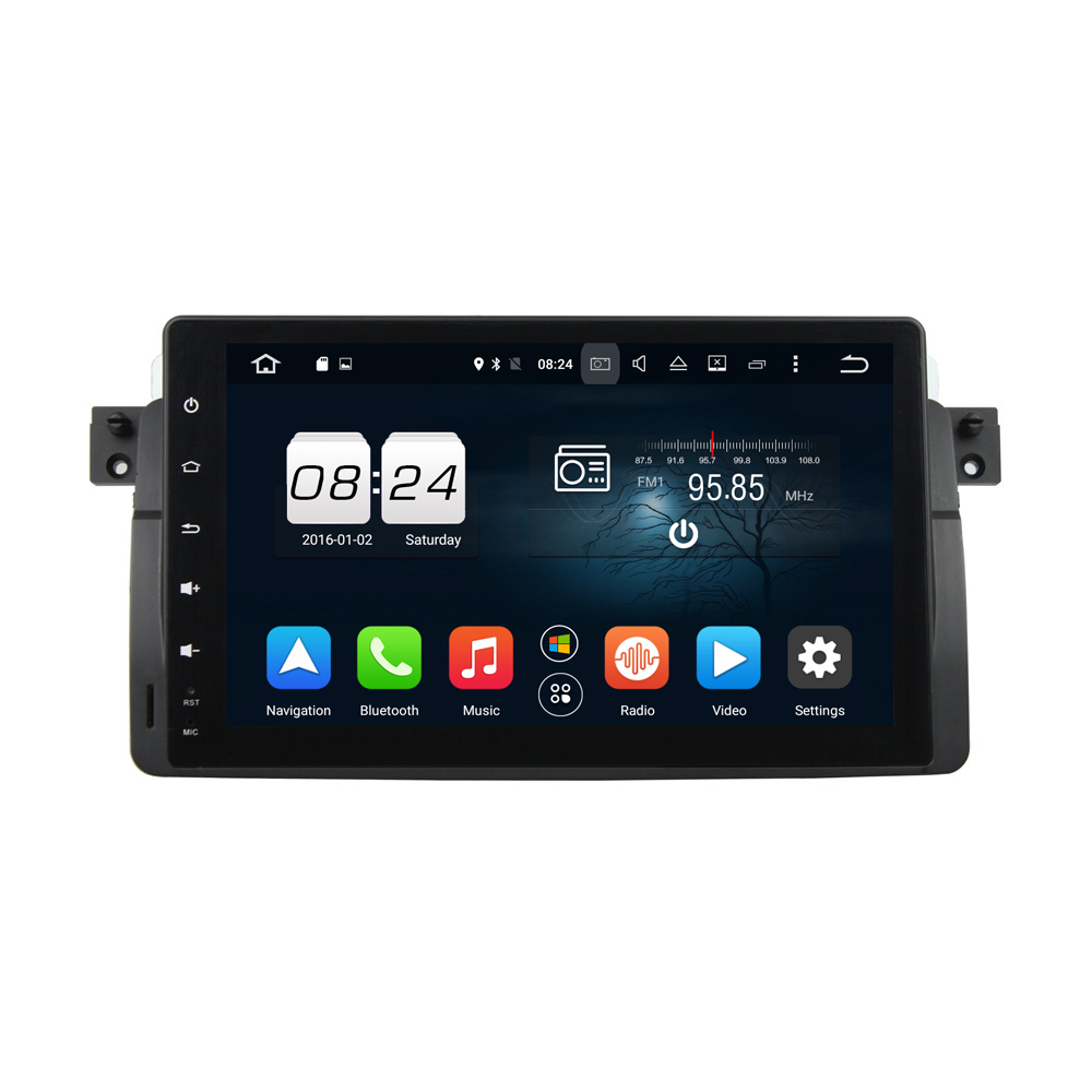 Octa Core Android 6 0 Multimedia Head Unit For BMW M3 E46 2G 32G Car Radio