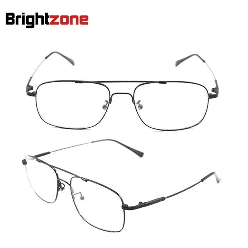 Bestselling Brand Aviation Pilot-style Memory Titanium Metal Flexible Bridge/Temple Prescription Optical Glasses Eyeglass Frames