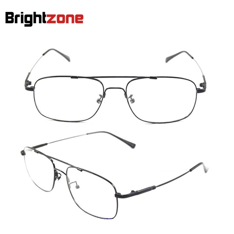 bestselling brand aviatorr pilot style memory titanium metal flexible bridgetemple prescription optical glasses eyeglass frames