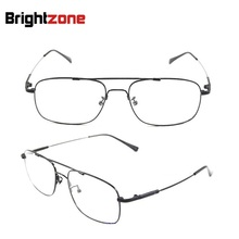 2229ee61af Bestselling Brand Aviatorr Pilot-style Memory Titanium Metal Flexible  Bridge Temple Prescription Optical Glasses