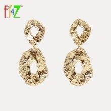 F j4z новые панковские массивные серьги для женщин модные женские