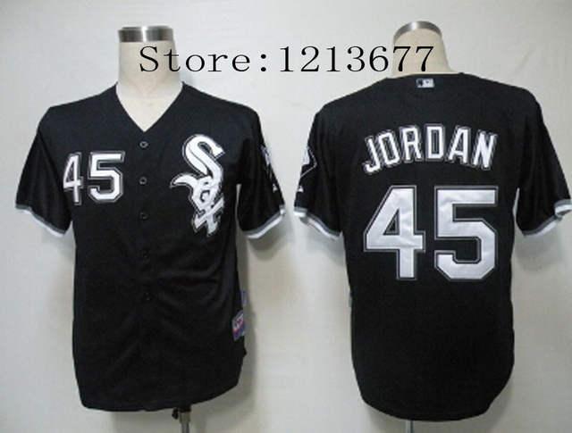 promo code e8aab f4560 45 Michael Jordan Jersey Chicago White Sox Jerseys Men Cool ...