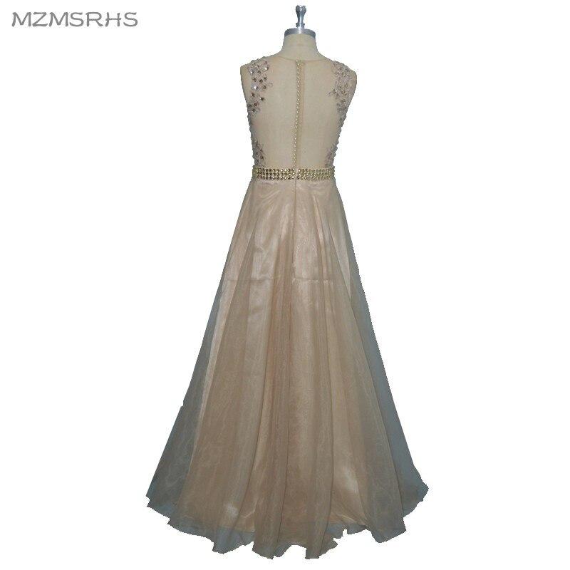 """Elegantiškos """"Champange"""" aplikacijos """"Vintage"""" formali - Ypatinga proga suknelės - Nuotrauka 2"""