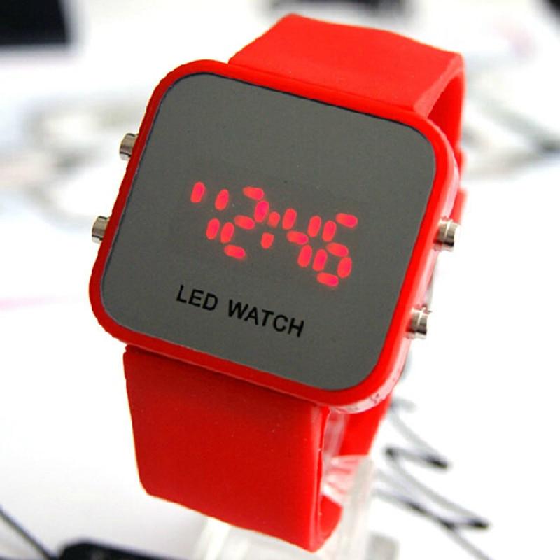 Superior 2018 Men Women Digital Led Sport Watch Casual Silicone Watches Waterproof Wristwatch Bracelet Relogio Masculino Clock07 Men's Watches