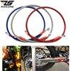 ZS Racing Universal 800mm-1400mm Motorcycle Dirt Bike Braided Steel Hydraulic Reinforce Brake line Clutch Oil Hose Tube