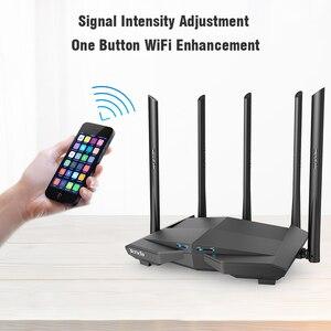 Image 3 - Tenda AC11 1200Mbps Wireless WiFi Router,1GHz CPU + 128M DDR3,1WAN + 3LANพอร์ตGigabit,5 * 6dBiเสาอากาศรับสัญญาณสูง,สมาร์ทAPPจัดการ