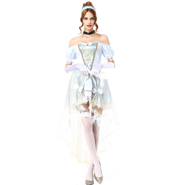 f78459e27b91d White snow costume cinderella princess dress women sexy halloween costumes  for women adult sexy carnival costumes