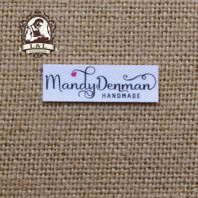 120 peças logotipo Personalizado rótulos/etiquetas de marca, etiquetas de nome personalizado para as crianças, o ferro ligado, etiquetas Das Roupas personalizadas, Etiquetas de Nome