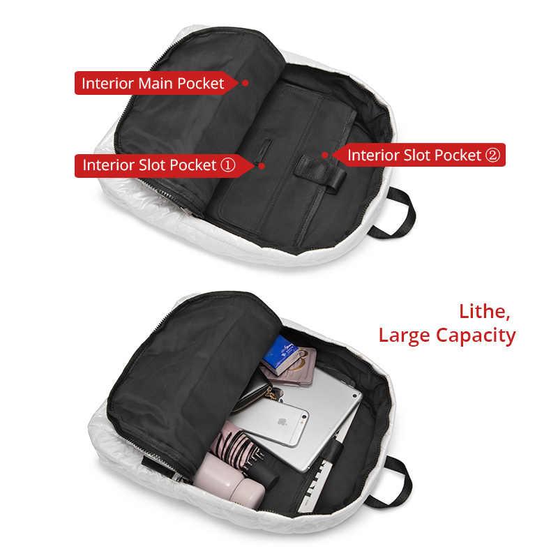 рюкзак женский, пространство хлопка вниз рюкзак, рюкзак школьный для девочек подростков, Сумка женская мода