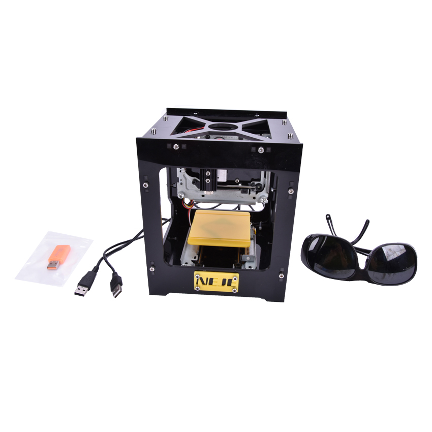 2015 new  300mW USB DIY Laser Engraver Cutter Engraving Cutting Machine Laser Printer Engraving machineslaser 300mw usb laser engraver box laser engraving machine diy laser printer