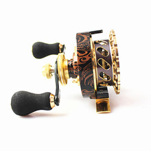 New Arrival  Raft Fly Ice Fishing Reel Left/Right Handle Freshwater Marine Fish Carp Spinning Wheel Tackle Online Store