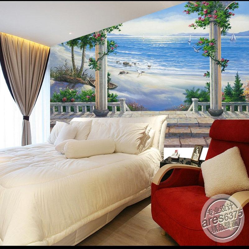 3d обои пейзаж Настенные обои для гостиной спальня диван фон обои фото обои