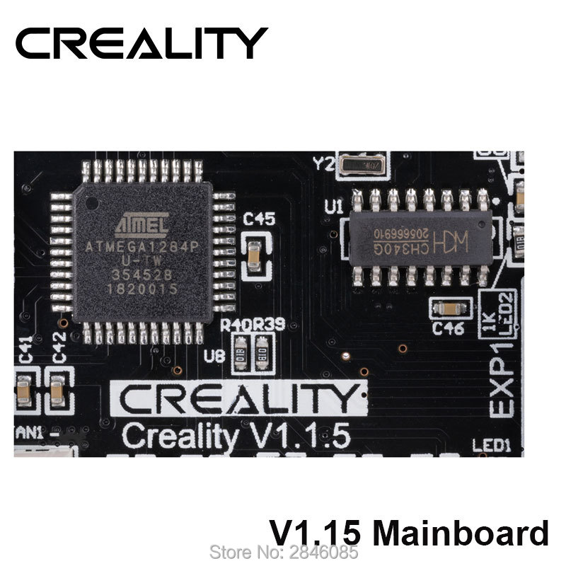 Image 3 - CREALITY 3D New Upgrade Silent 1.1.5 Mainboard for Ender 3/Ender 3  Pro/Ender 5 (Customized und Non Standard Matching)3D Printer Parts