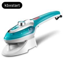 Home Handheld Garment Steamer Vertical Travel Electric Iron Steamer For Ironing Clothes With Steam Brush Household Appliance 1pc 220v electric clothes steamer steam iron household steam wireless handheld mini iron vertical ironing machine