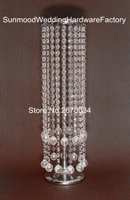 Tall Large Crystal Flower Vasetall Cylinder Acrylic Crystal Vase In