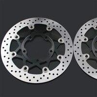 Из 2 предметов мотоциклетные передние плавающие тормозные диски ротор для SUZUKI GSXR600 GSXR750 06 07 GSXR1000 05 08 M180R 06 09 GSXR 600 750