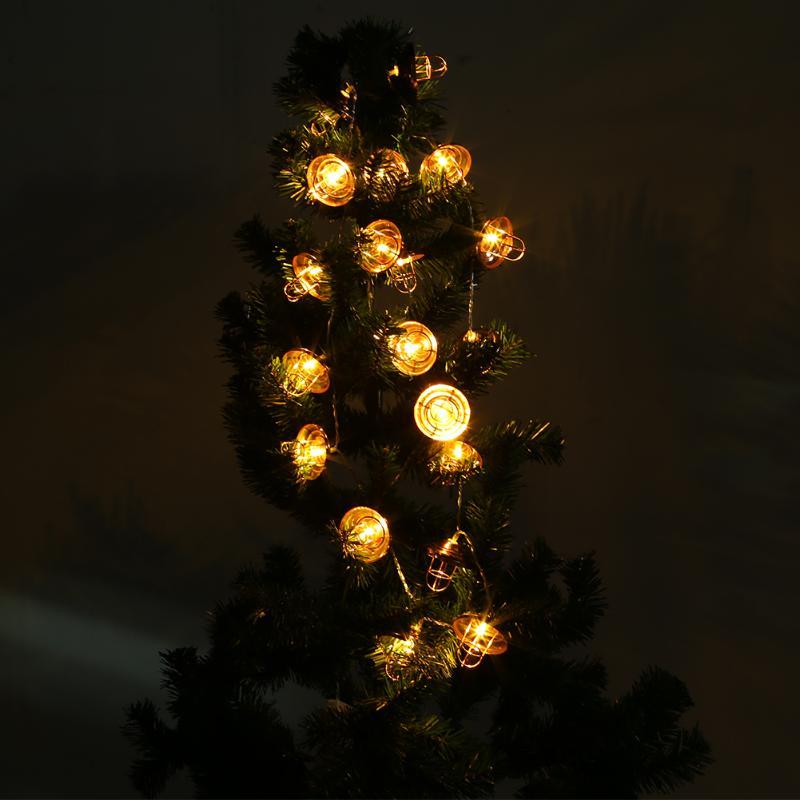 2M 20 LED String Lights Curtain Fairy Lights Xmas Wedding Garden Decor Christmas Night Light 55*55CM
