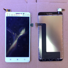 S850t LCD Display+Touch Screen Panel Digital replacement parts For Lenovo S850 5.0inch Mobile phone White Free shipping in stock