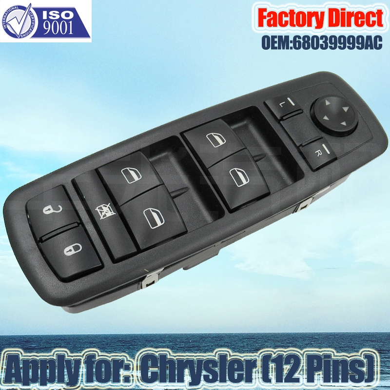 Factory Direct Auto Power Window Master Switch Apply For 2009 2014 Dodge Journey 68039999AC Chrysler|Window Lever & Window Winding Handles| |  - title=