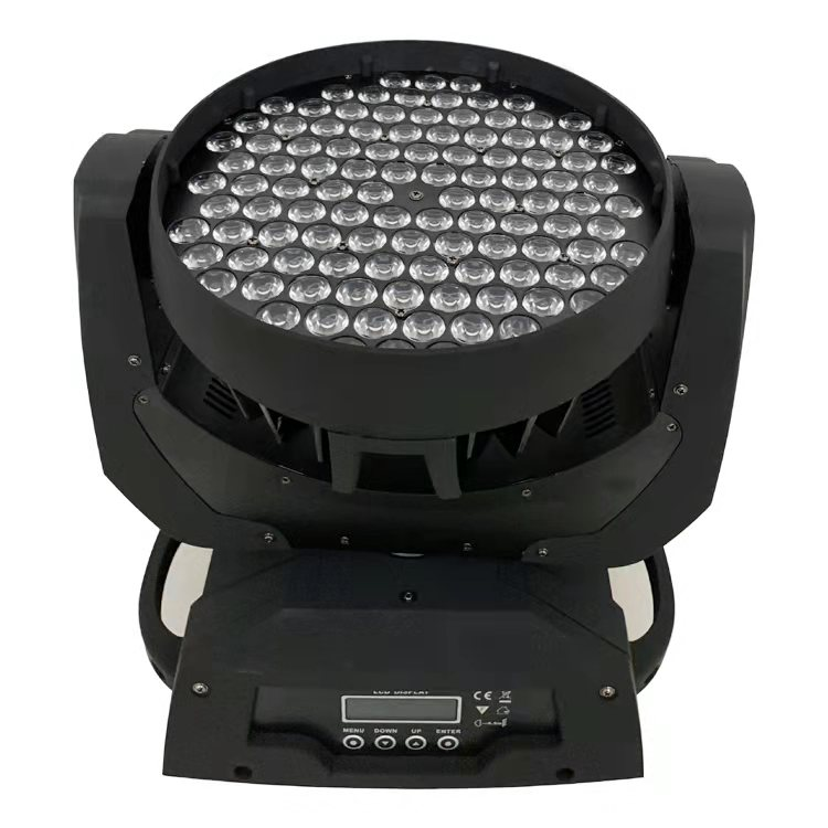 Professional show lighting Led moving head wash 108x3W rgbw disco stage light for party bar dmx512 dj equipment