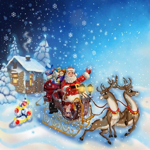 Sfondi Natalizi Renne.Babbo Natale Renne Di Natale Sfondi Fotografia Sfondo Per Bambini