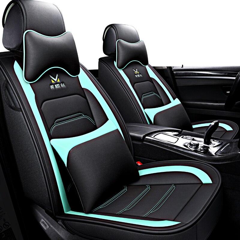 Luxury Custom leather Car Seat Cover For Nissan Qashqai Note juke tiida x trail car accessories