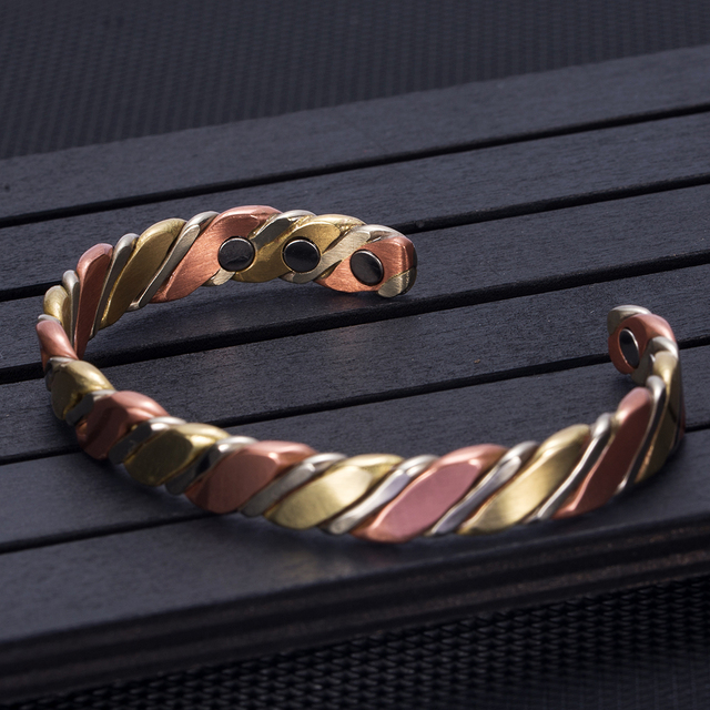 Power Magnetic TherapyTwisted Copper Bracelet