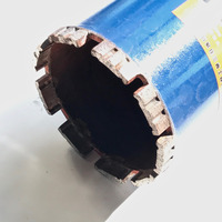 Free Shipping Of 1pc 63 150mm M22 Connector Short Diamond Wet Drill Bits Core Bit For