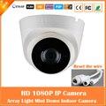 1080 p cámara domo ip 2.0mp cmos de vigilancia de seguridad cctv motion detect cam visión nocturna por infrarrojos mini blanco freeshipping caliente