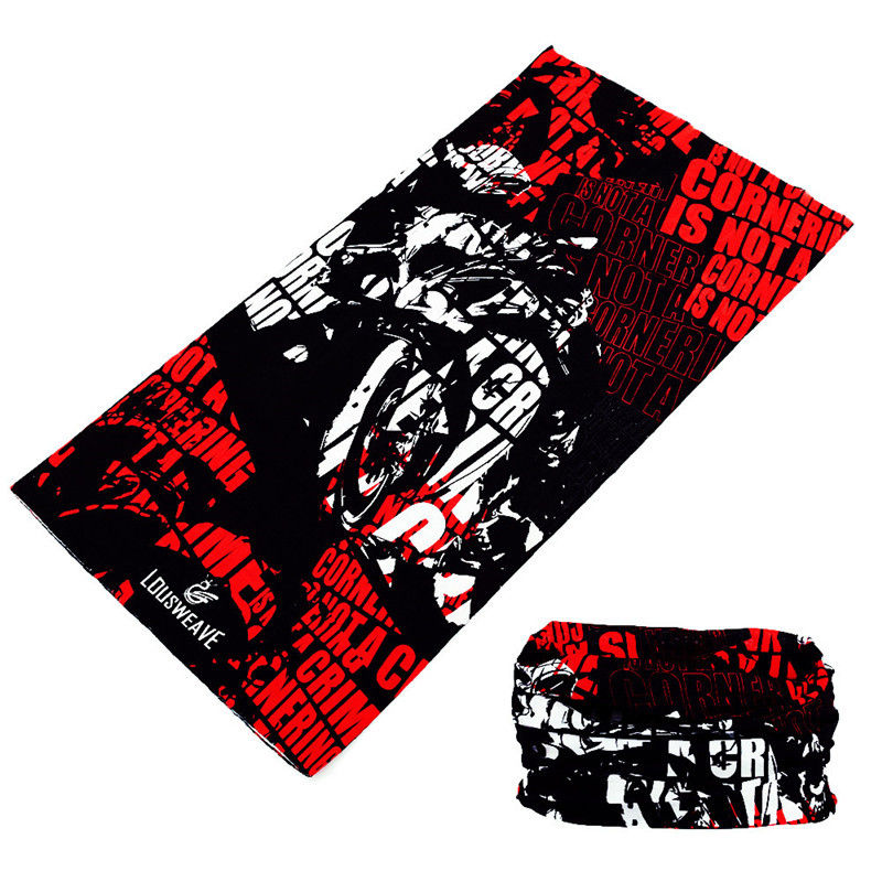 Head Scarf Cycling-Bandana Face-Shield Tubular Neck Gaiter Skull Buffe Motorcycle Sports-Mask
