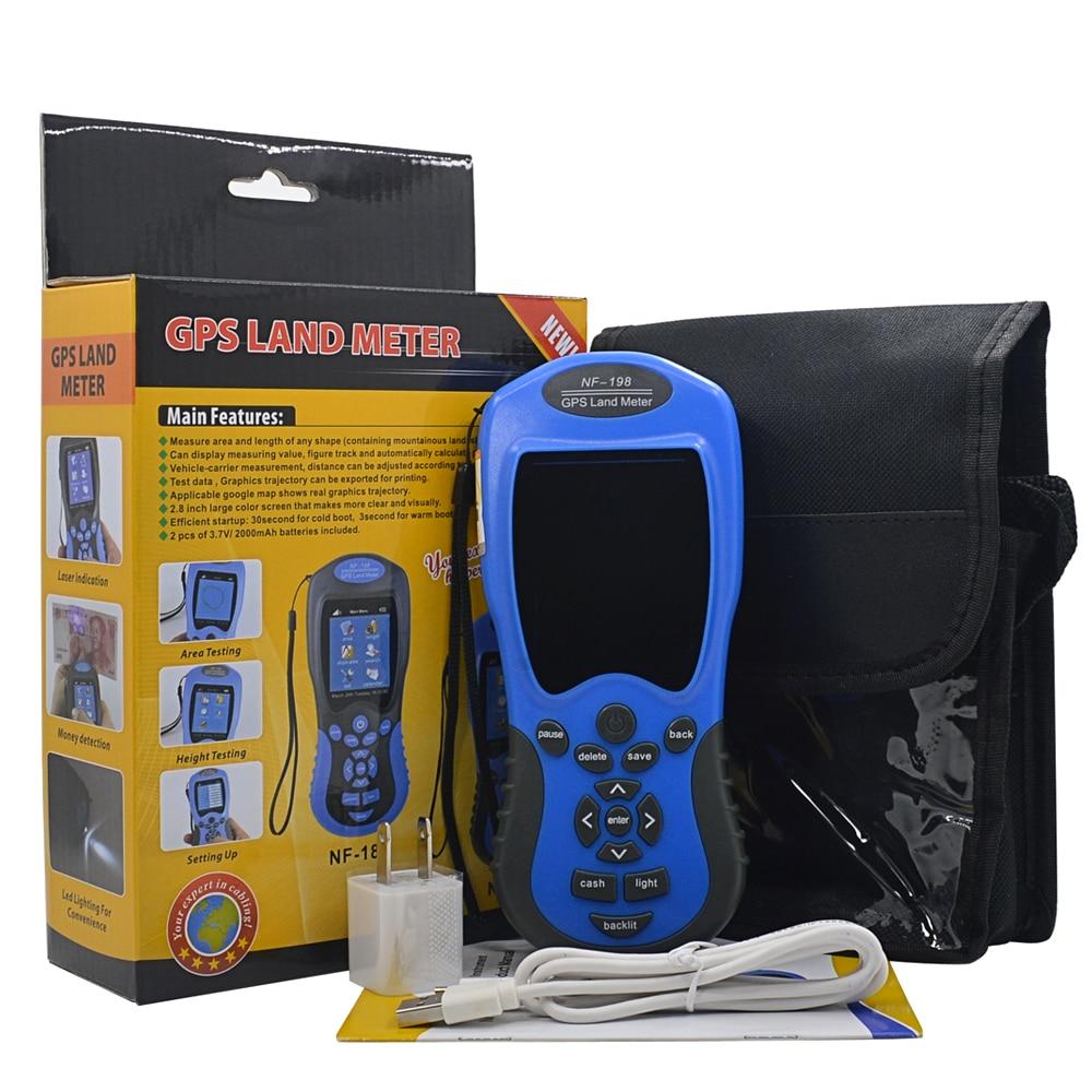 Original Noyafa NF-198 Digital Handheld GPS Land Meter Land Surveying Instrument