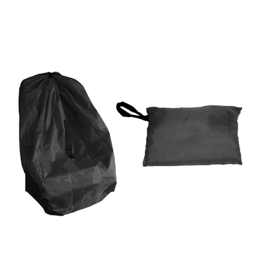 Portable Baby Child Safety Car Seat Travel Carry Bag Cover Dust Protection Black