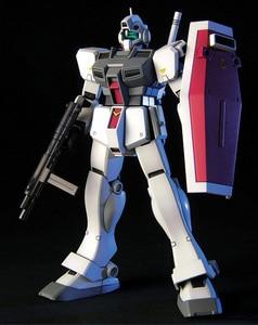 Image 3 - Bandai Gundam 20465 HGUC 1/144 RGM 79D GM Cold District typ mobilny garnitur montaż zestawy modeli figurki Model z tworzywa sztucznego