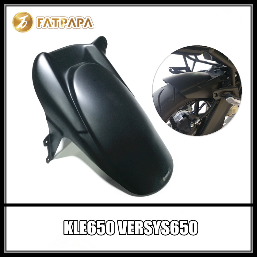Free shpping Motorcycle Rear Fender Extension Extender Fit Kawasaki Versys 1000 2012-2017 KLE650 Versys 650 2010-2017 KLE 650
