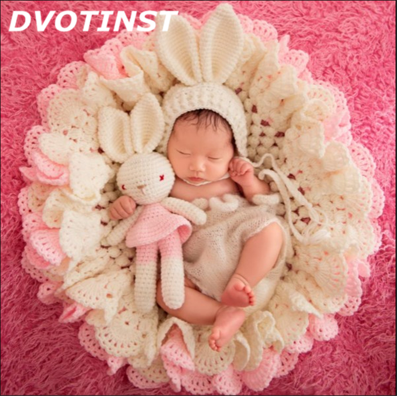 Baby Photography Props 1pc Hat+1pc Blanket+1pc Doll 3pcs Set Newborn Fotografia Accessories Infantil Studio Shooting Photo Props fotografia newborn photography props blanket letter racks fences photography backdrops background